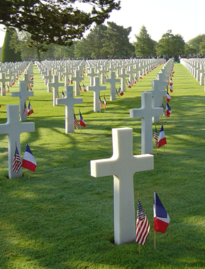 Image : Colleville-sur-Mer Military Cemetery